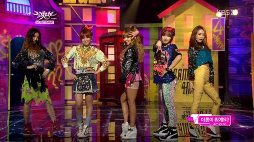 Tellu - 4Minute - What's Your Name (130426 KBS Music Bank) [Comeback Stage].mkv_snapshot_03.04_[2013.04.30_01.16.33]